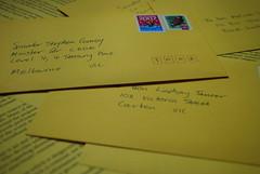 たくさんの手紙