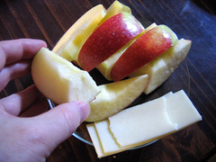 Cheese and Apples in Season