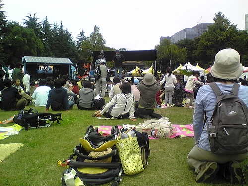Hibiya koen tsuchi to heiwa no saiten Concert