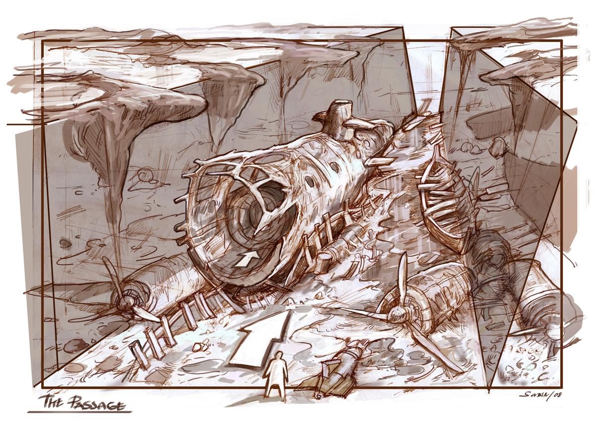 Sabin Boykinov sketchbook update