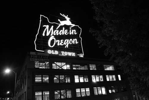 made in oregon sign portland oregon
