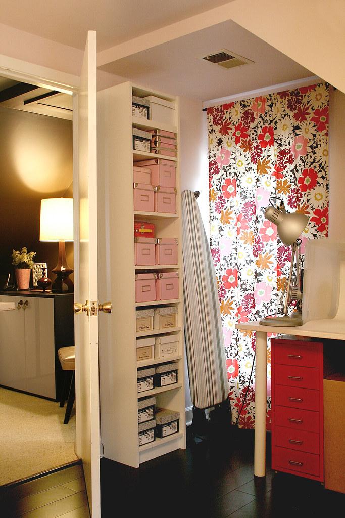 Storage Behind the Door