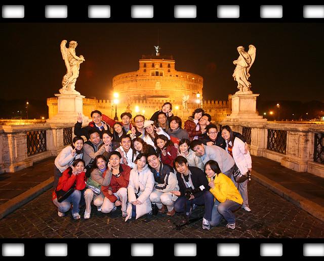 羅馬夜景_人物合影_09