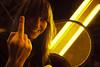 Sara Deals With Acrophobia Accordingly ('SeraphimC) Tags: carnival friends yellow delete10 canon delete9 fun delete5 delete2 delete6 weekend delete7 28mm save3 delete3 delete save2 ferriswheel 5d losfeliz save1 frie delete4ñ