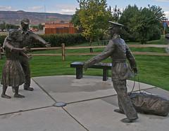 20080910 Vietnam Memorial Statues