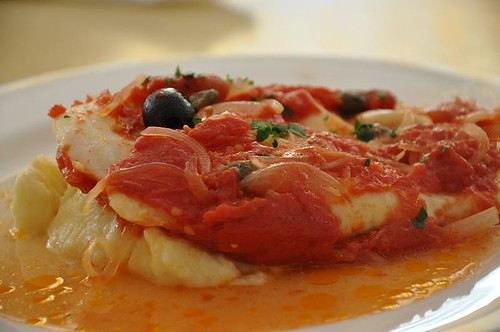 Baked Snapper with Tomato Sauce