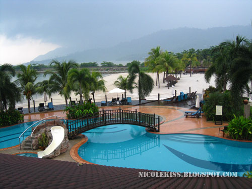 very nice swimming pool in langkawi resort