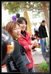 Candid N and Friend (Wilson Lam {WLQ}) Tags: hello yahoo yah helloworld halloween2008