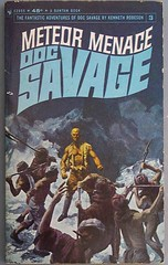 doc savage 03: meteor menace (cdrummbks) Tags: fiction book cover docsavage kennethrobeson