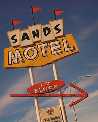 Sands Motel-Grants, NM (Pete Zarria) Tags: road trip travel vacation arizona signs newmexico southwest history oklahoma church station fun hotel nationalpark route66 neon catholic texas indian grandcanyon pueblo motel diner gas missouri mission artdeco priest shamrock cliffdwelling reservation motels cliffhouse conoco franciscans nationalroad corvettestucson flagstaffkaibab