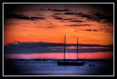 At Anchor (Saildog Photography) Tags: blue sunset sky sun clouds florida jacksonville fl jax stjohnsriver northflorida atlanticcoast bluestblue inspiredbylove orangeskies mywinners colorphotoaward northeastflorida coloursplosion goldstaraward saildog skyascanvas panoramafotogrfico