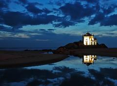 Blue night (polaroidxpress) Tags: noche casa cielo oporto fiatlux superaplus aplusphoto