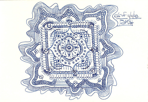 Ruth's TIde Pool Creature Mandala