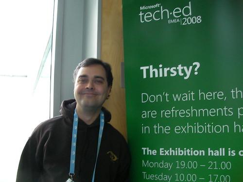 Mister Benoit lors de TechEd 2008 EMEA