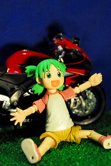 then I high kick!! - DSC_5414 (~Nisa) Tags: bike toy one singapore asia yotsuba revoltech