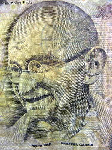 Mahatma Gandhi by Gaurav Dhwaj Khadka