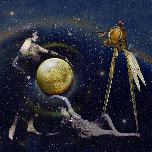 Demeter and Persephone protecting the Earth against the Compasses-Fly