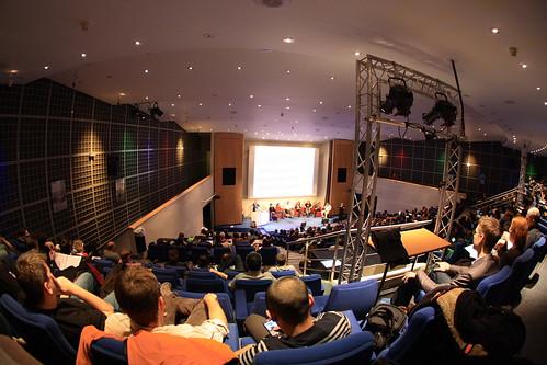 Paris web : la salle