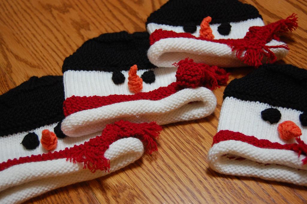 Snowman Hats 03