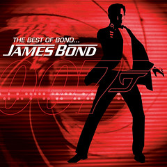 The Best Of Bond-James Bond - CD cover art