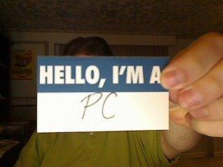 I'm a PC