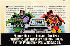 comics ad - Norton Utilities - Govt Computer News 95-09-04