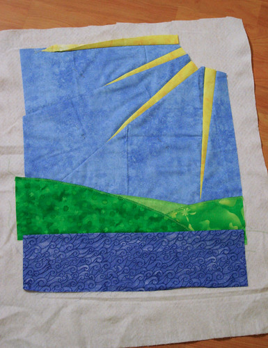 Dolls' quilt swap - part 3