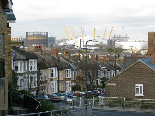 O2 from Halstow Road, SE10