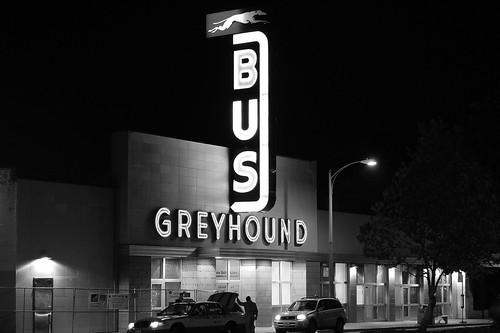 Greyhound Station, Oakland, California