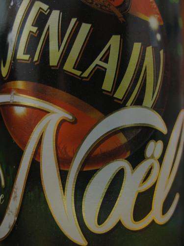 Biere de Noël Jenlain ... ça faisait longtemps.