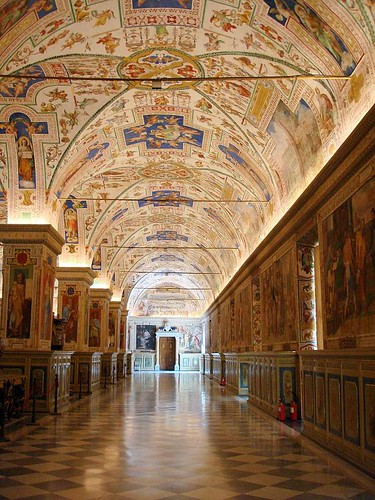 Hallway at the Vatican