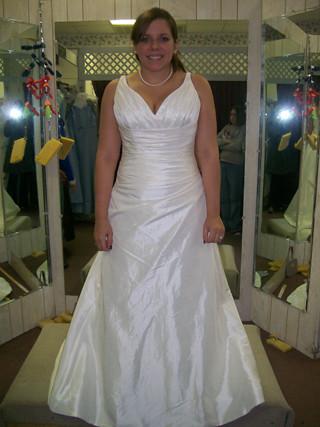 a custom made dress