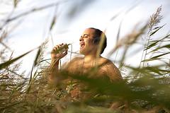 The Naked Ipod Man (Gary Dickinson) Tags: sunlight festival drunk outdoors funny singing drinking mp3 player odd drugs mad oneman behaviour nakedmanfieldlonggrasslisteningipodmusicenjoymentgoodtimeunconventionalcrazy httpwwwgarydickinsoncouk