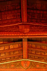 Painted chancel ceiling St. Margaret - Wolston