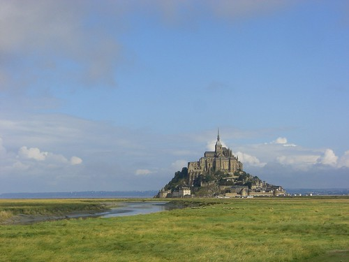 Mont St. Michel by schlaeger.
