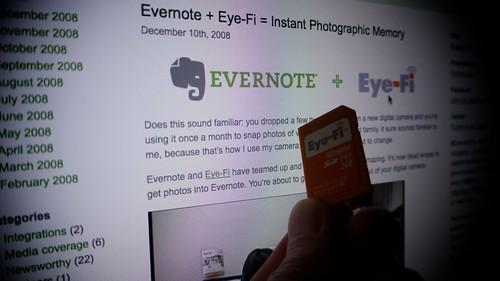 Eye-Fi & Evernote