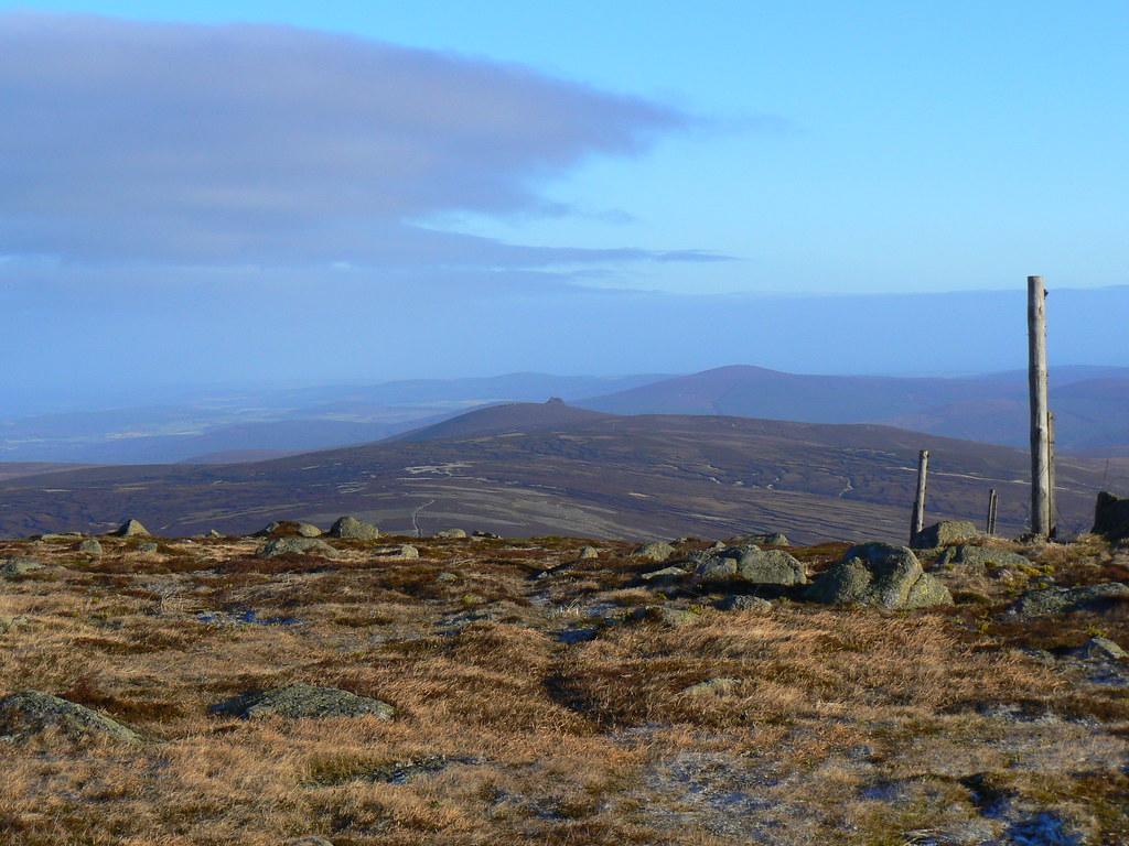 Clachnaben from Mt Battock
