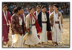 Sherdukpen Women (Arif Siddiqui) Tags: costumes people india traditional culture tribal tribes tribe arif tawang portriats dances siddiqui arunachalpradesh monpa northeastindia peopleofindia arunachalpradeshindia