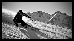 Action on icy powder (Beppe 1977) Tags: mountain ski montagne nikon action monterosa sci champoluc gressoney d300 polvere azione alagna monterosaski