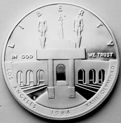 1984Olympics(LosAngeles)DollarColiseum3obverse