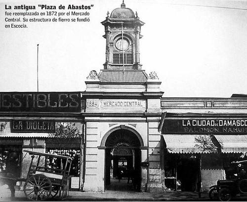 el mercado central de santiago, la ciudad de damasco