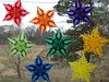 Rainbow Of Window Stars - Learn The Color Wheel