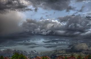 Bastille Day Sky