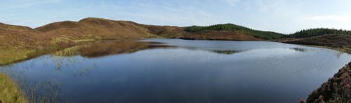 Loch nam Ban. Kilmelford Hill Lochs.Copyright Brian Turner