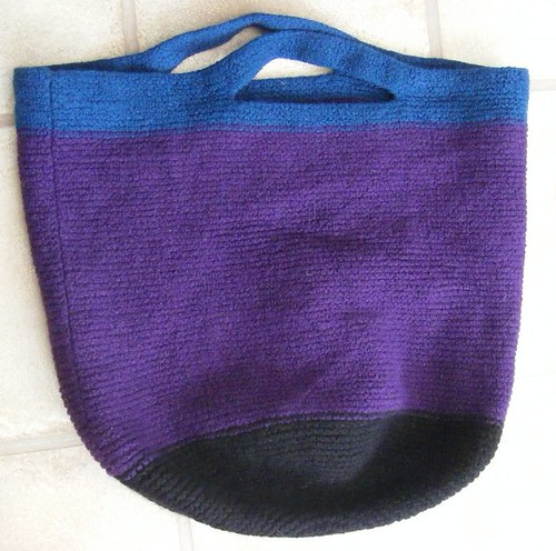 Infinity Bag Felted.