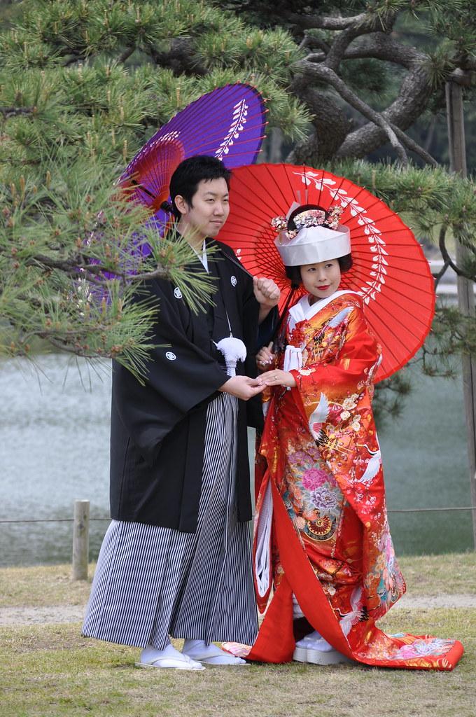 Japan traditional wedding