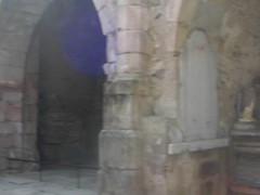 Inside the church where the Germans massacred 247 women and 205 children. (maggie jones.) Tags: france church video massacre nazis ww2 waffenss worldwar2 germans oradoursurglane