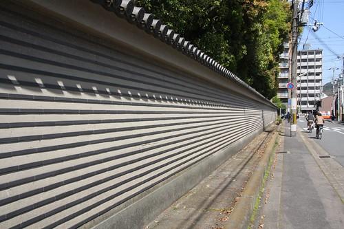 土塀のある京都