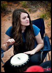 Drumming in Arches National Park (inneriart) Tags: family camping music woman selfportrait me nature girl lady female outdoors photography utah amazing nikon artist natural emotion drum hiking unique fineart creative longhair arches saltlakecity jamming adobe american passion drumming southernutah redrock archesnationalpark democrats democrat freelance inneri hannahgalliinneri nikond300s photoshopcs5 photographyinneri inneriart innereyeart inneri wholehannah 2011417archesfamilycampingdrumming inneriartcom httpinneriartcom