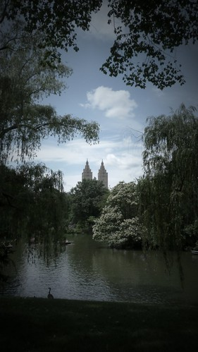 Central Park looks straight from a fairy tale in this photo
